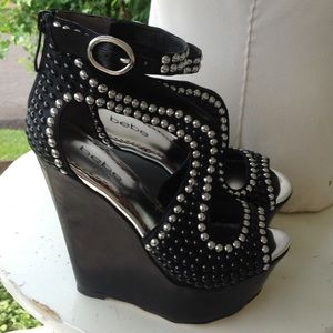 Brand new Womans Bebe shoes.